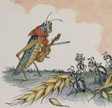 蟻とキリギリス